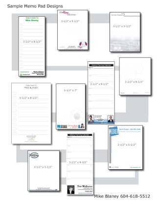 Memo Pads as Giveaways – Good Ideas Are a Dime a Dozen, But ...
