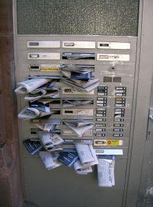 crammedmailbox