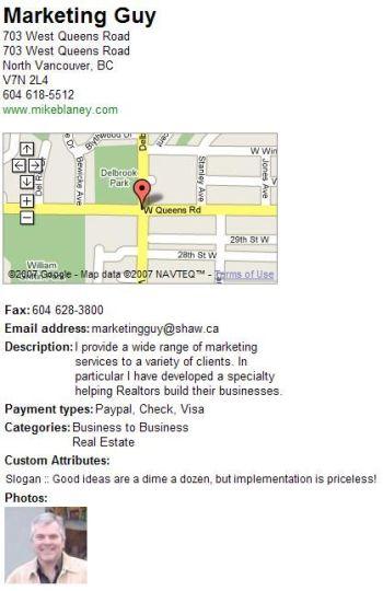 Google Maps Marketing Guy 1