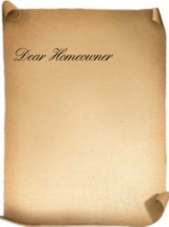 parchment letter
