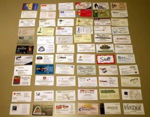 Business CArd Montage