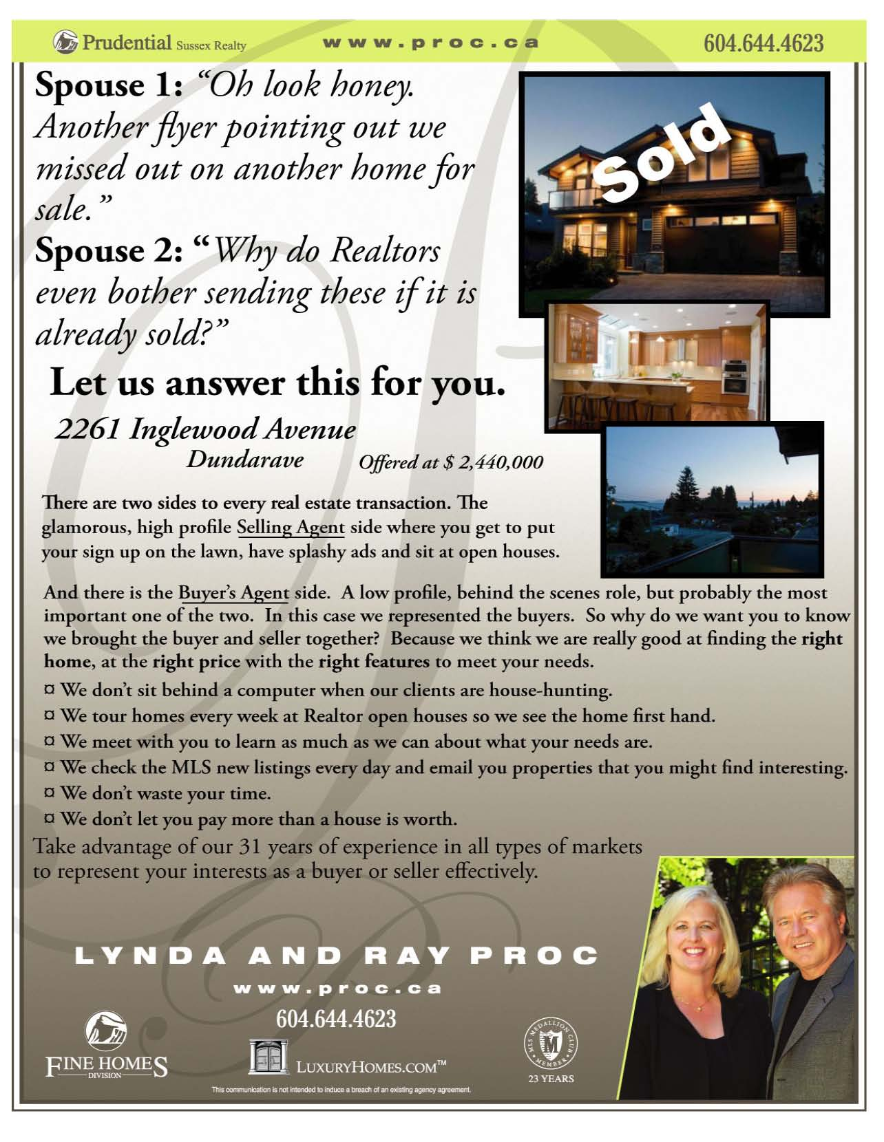 realtor marketing do just sold flyers work