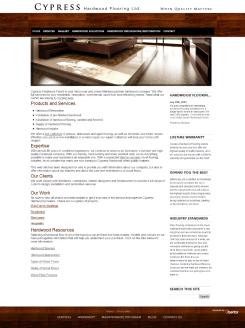 Cypress Hardwood New Website