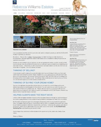 Rebecca Williams Website