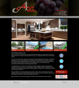 Amos Realty Website