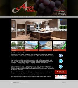 Amos Realty Website