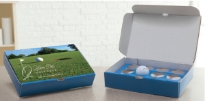 Branded Golf Ball Gift Box