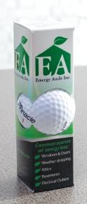Branded Single Ball Golf Sleeve